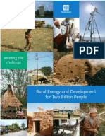 Rural Energy and Development for Two Billion People