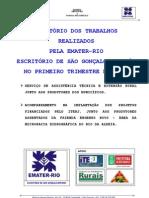 RELATÓRIO TRIMESTRAL EMATER-RIO 2012