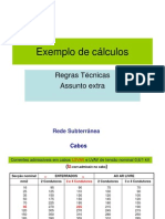 Calculo de secções e protecções1