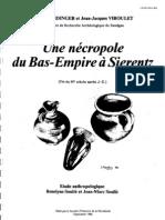 Une nécropole du Bas-Empire à Sierentz