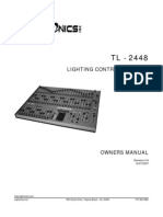 Tl2448m Owners Manual