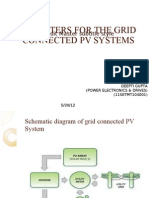 Inverters for Grid Connected Pv Systems