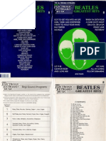 Beatles Greatest Hits - EZ Play