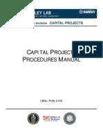 XXX Capital Projects Procedures Manual