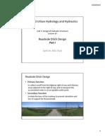 Roadside Ditch Design
