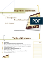 Question of Faith Workbook