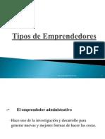 Tipos de Emprendedores