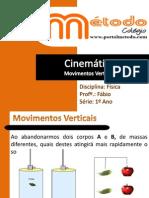 Cinemática - Movimentos Verticais