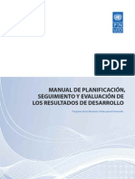 PNUD Manual Planif Completo