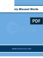 Misused Words