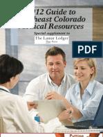 2012 Southeast Colorado Medical Resources
