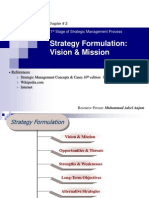 02. Strategy Formulation ( vs & Ms) 8-10M