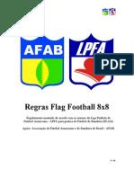 Regras Flag 8 x 8
