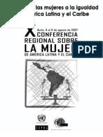 Cepal - El Aporte de Las Mujeres