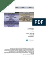 p90x Excel
