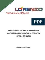 Item 092 - Modul Didactic Pentru Starterul Stea-triunghi