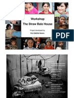 Workshop in Romania - Strawbale House
