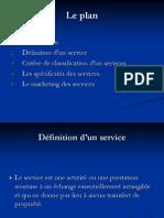 Copie de Le Marketing Des Services