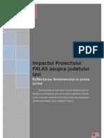 Impactul Proiectului PALAS Asupra Orasului Iasi
