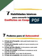 Siete des de Conflicto a Cooperacion