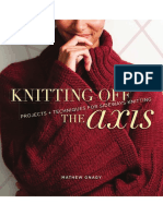 Knitting Off the Axis BLAD
