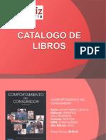 Catalogo de Libros or