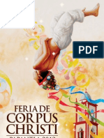 Programa Final Feria Corpus Christi 2012