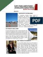 Bancada Nacionalista Gana Perú - Boletín Nº 30