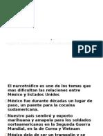 El narcotráfico en México