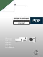 Manual Multi Split Isntalacao