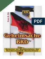 Buchter Geheimsache BRD Beweise Zur Nichexistenz Der Bundesrepublik Deutschland 20073