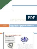Cor pulmonale 2011