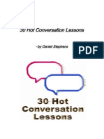 Hot Conversation Lessons Sample