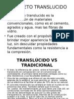 CONCRETO TRANSLUCIDO DIAPO