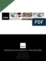 Estrategia de Sourcing y Proveedores - Forum Apparel Sourcing Show 2012