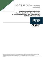 Ts 27 007 3gpp at Command for Ue-eleexpert