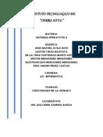 cuestionario sistemas operativos