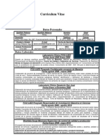 CV Acutalizado Daniel Mendez Perez