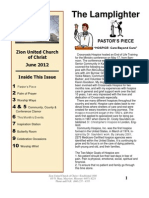 Zion UCC June Newsletter