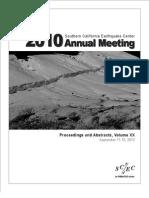 OLM 2010 SCEC Proceedings