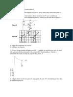 Exercícios de equilíbrio de ponto material