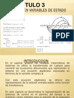 Modelos en Variables de Estado CAPITULO 3-1