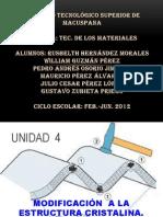 Tecnologia de Los Materiales...