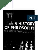 Wihelm Windelbang historyofphilosophy