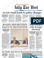 The Daily Tar Heel for May 31, 2012