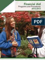 Financial Aid Policies Procedures