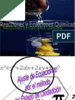 Igualación de Ecuaciones Químicas por REDOX.