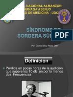SÍNDROME DE SORDERA SÚBITAexp