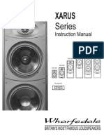 Tw audio catalogue product catalogue en 1 loudspeaker amplifier wharfedale xarus 5000 publicscrutiny Image collections