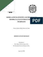 Desidratacao Eletrostatica de Petroleos